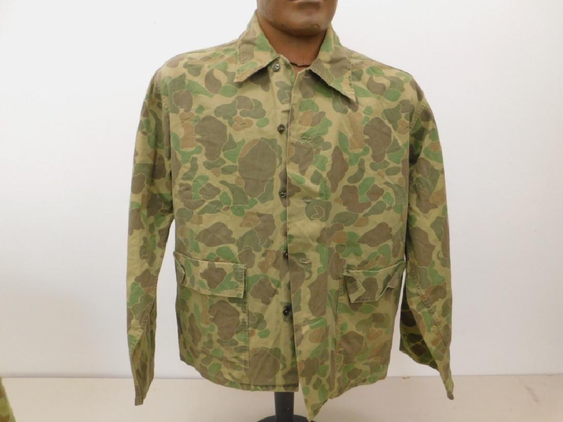 WWII U.S. Army Camouflage HBT Shirts (2) - 2