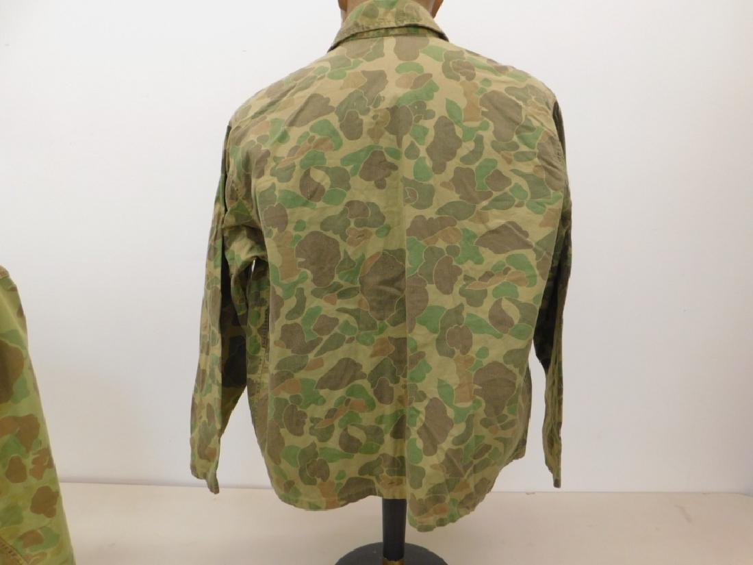 WWII U.S. Army Camouflage HBT Shirts (2) - 3