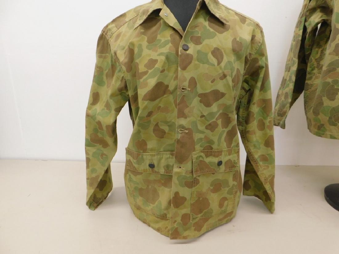 WWII U.S. Army Camouflage HBT Shirts (2) - 4