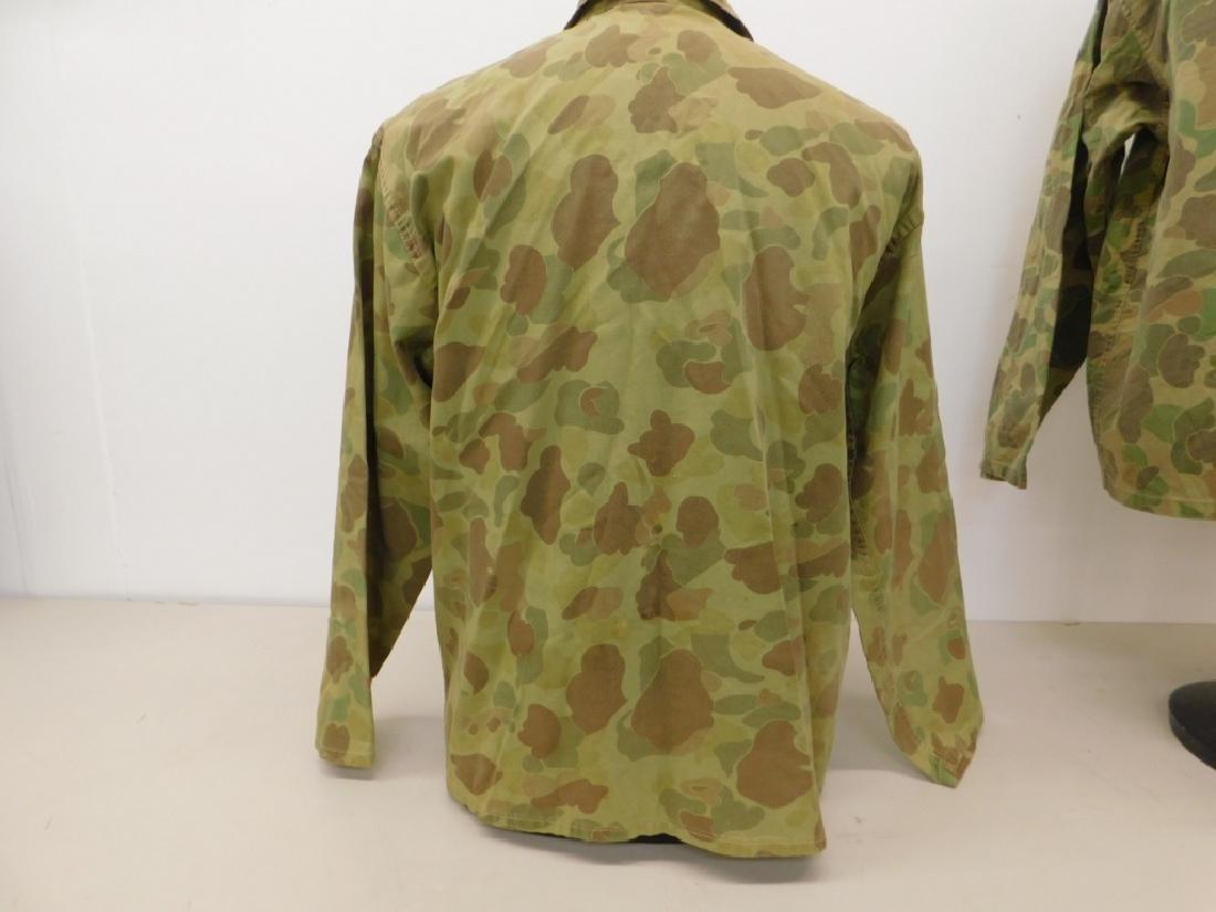 WWII U.S. Army Camouflage HBT Shirts (2) - 5