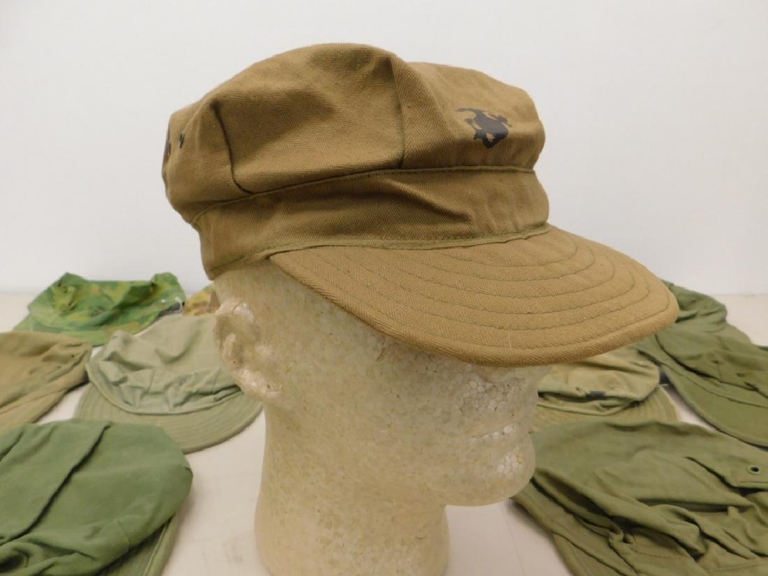 WWII - Korean War Marine Corps Soft Caps (15)