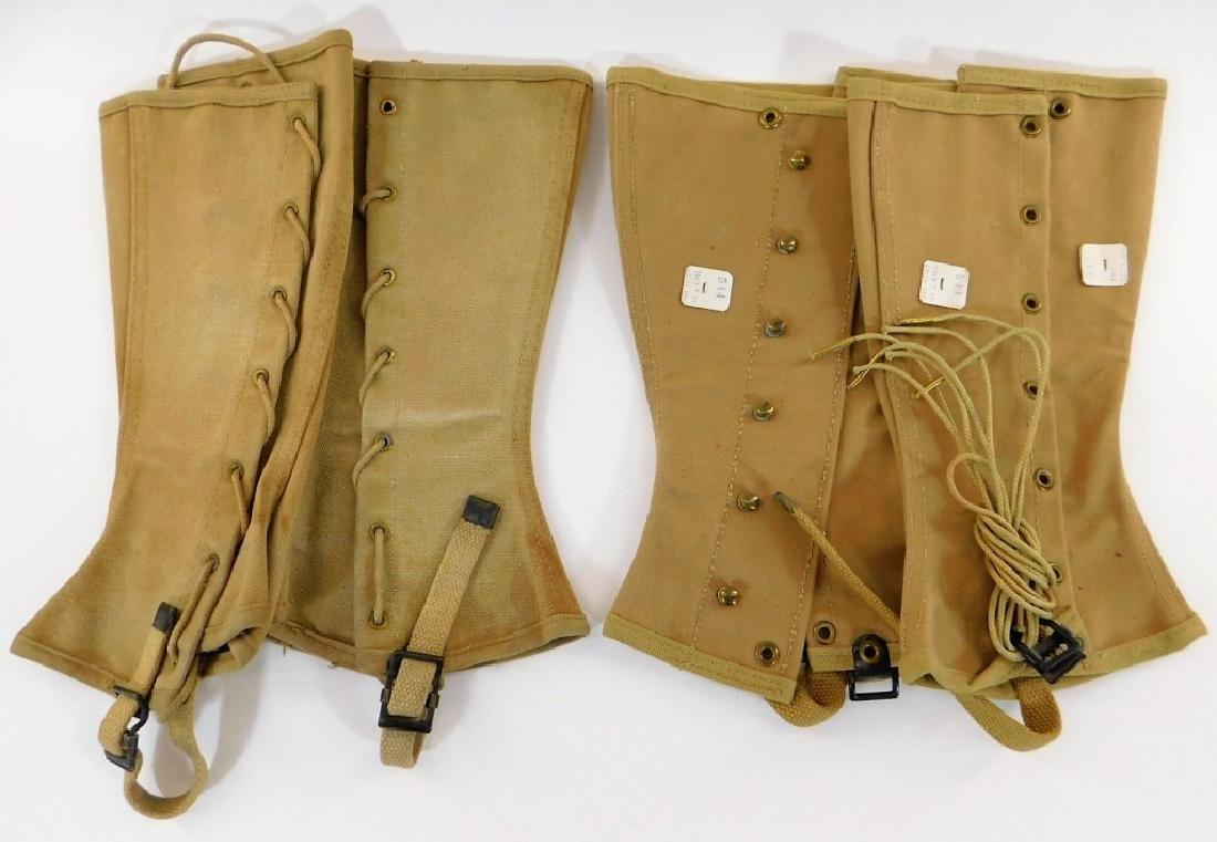 WWII U.S. Marine Corps Leggings (2) Pair