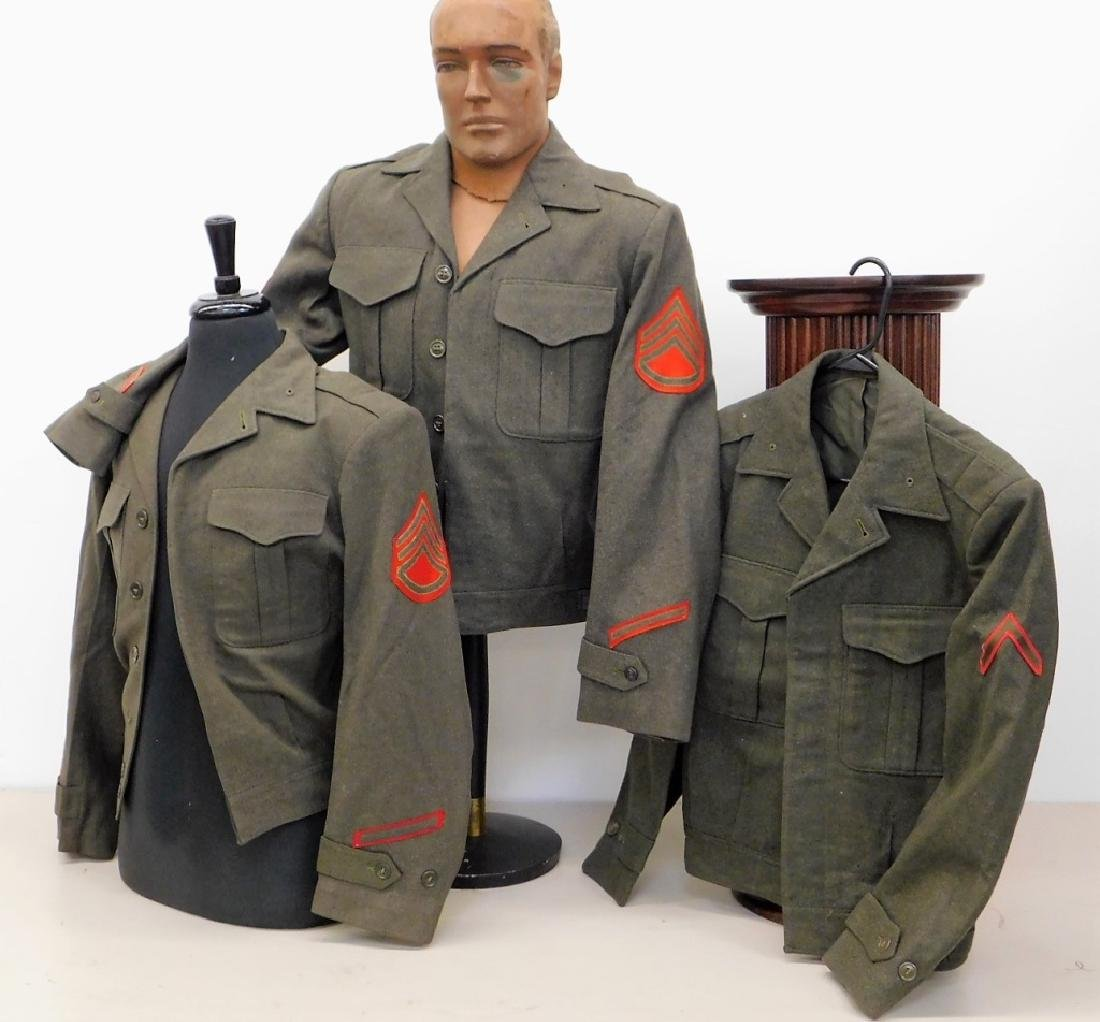 Korean War Era U.S. Marine Corps Ike Jackets (3)