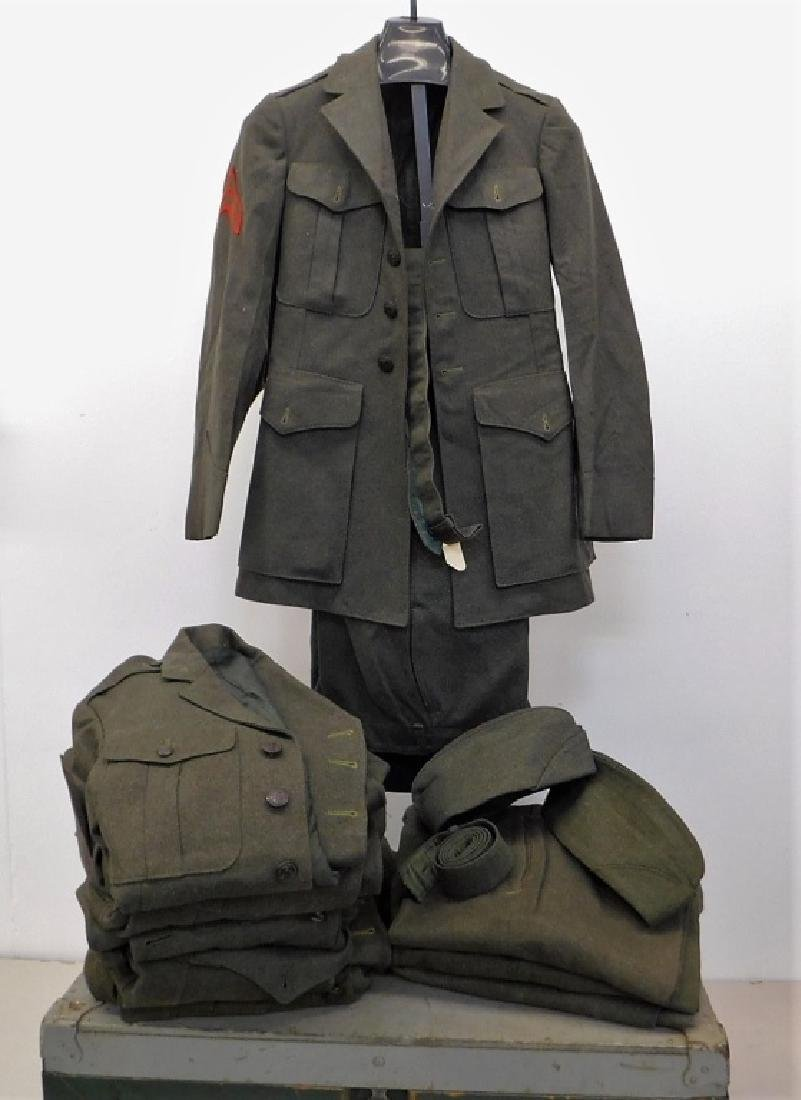 WWII U.S. Marine Corps Dress Uniforms (6)