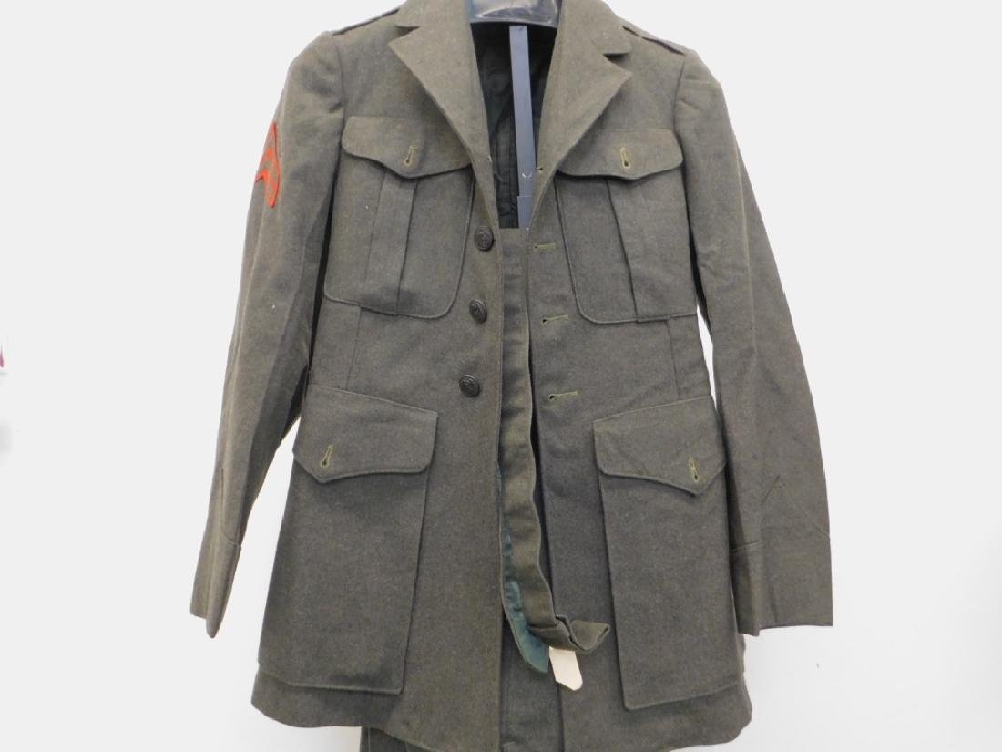 WWII U.S. Marine Corps Dress Uniforms (6) - 2