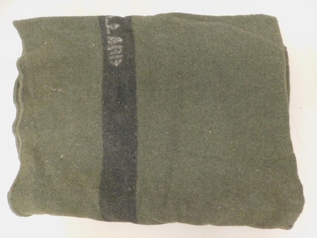 WWII U.S. Marine Corps Wool Blanket