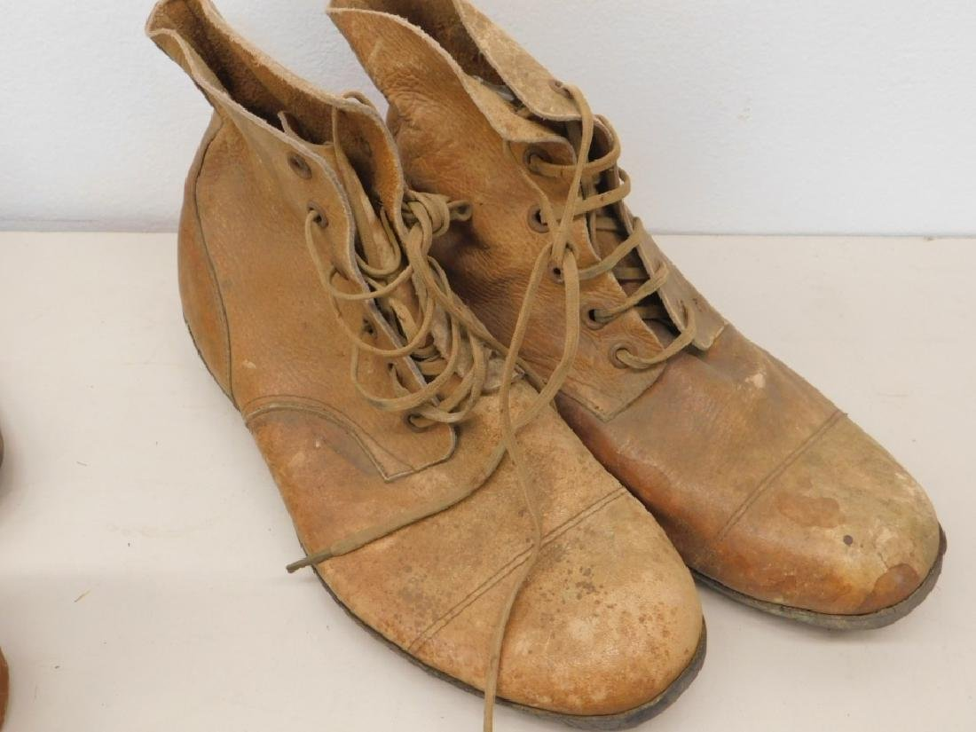 WWII Imperial Japanese Army Leather Combat Boots - 2