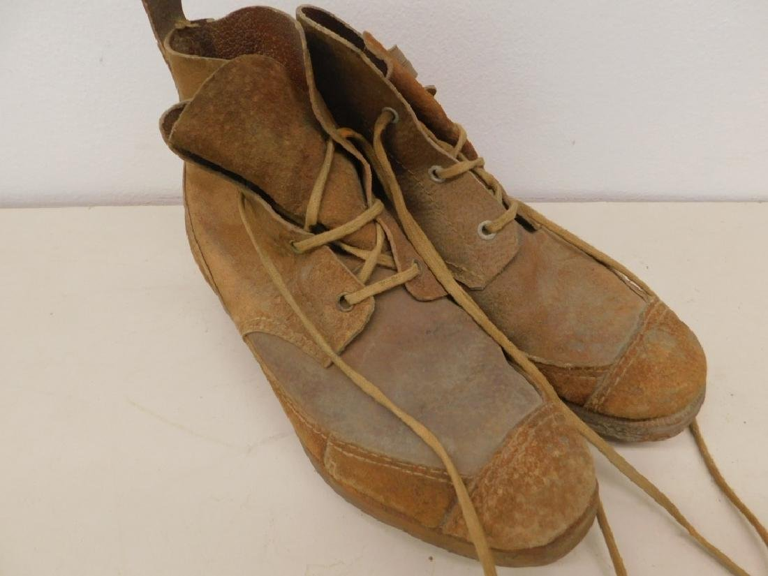 WWII Japanese Military Jungle Combat Boots - 3