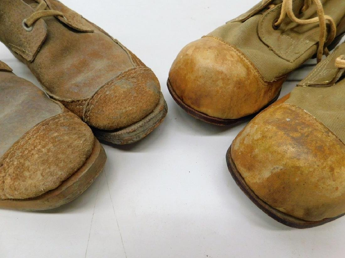 WWII Japanese Military Jungle Combat Boots - 5