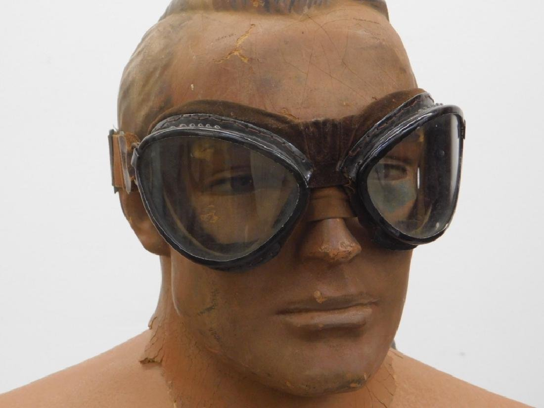 WWII Japanese Pilots Goggles in Case (2) - 2
