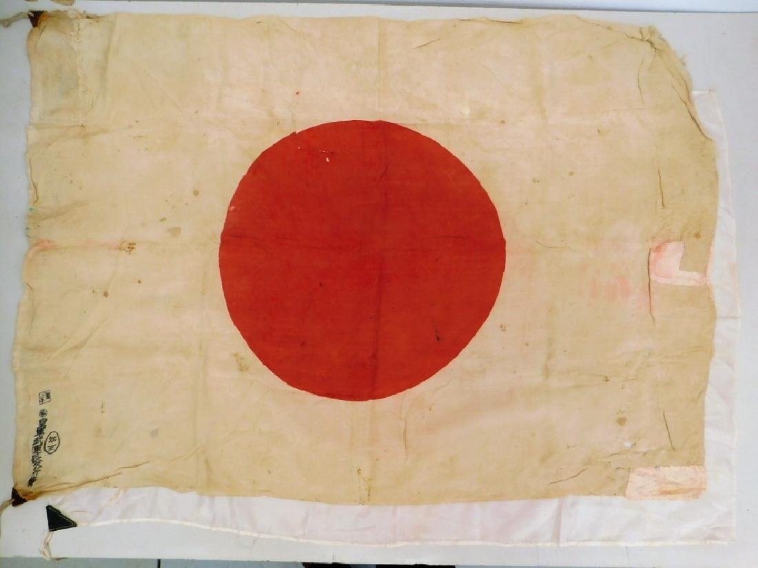 "WWII Japanese ""Meatball"" Flags (2)"