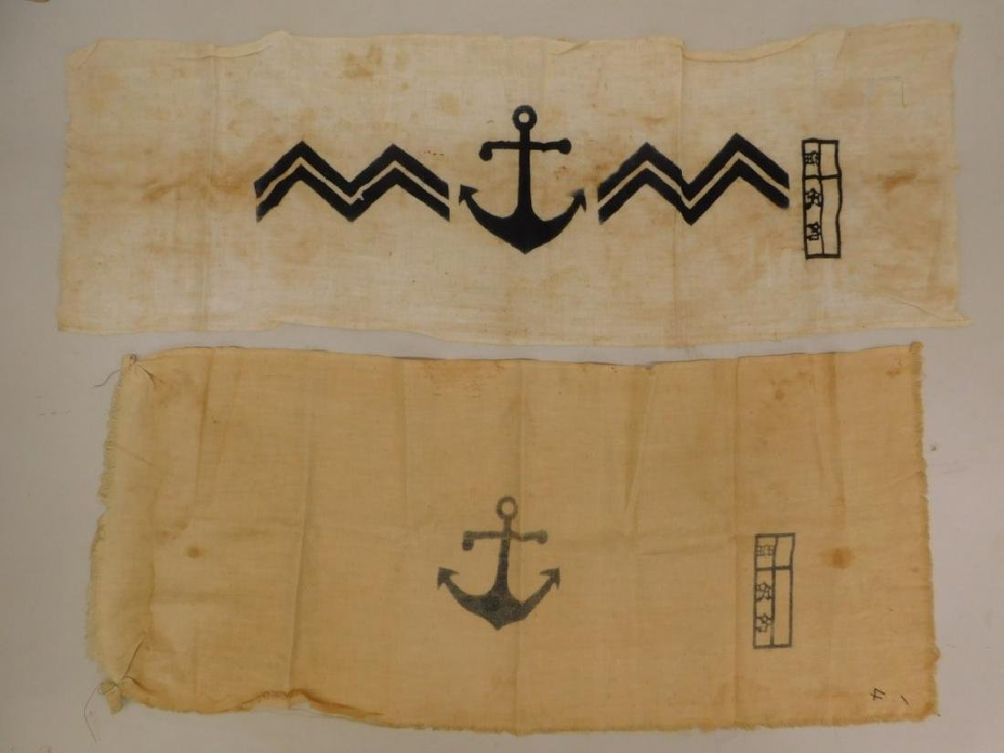 WWII Japan Naval Landing Forces Scarves (2)