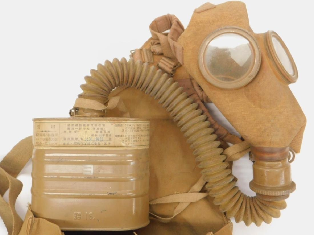 WWII Japanese Navy Gas Mask