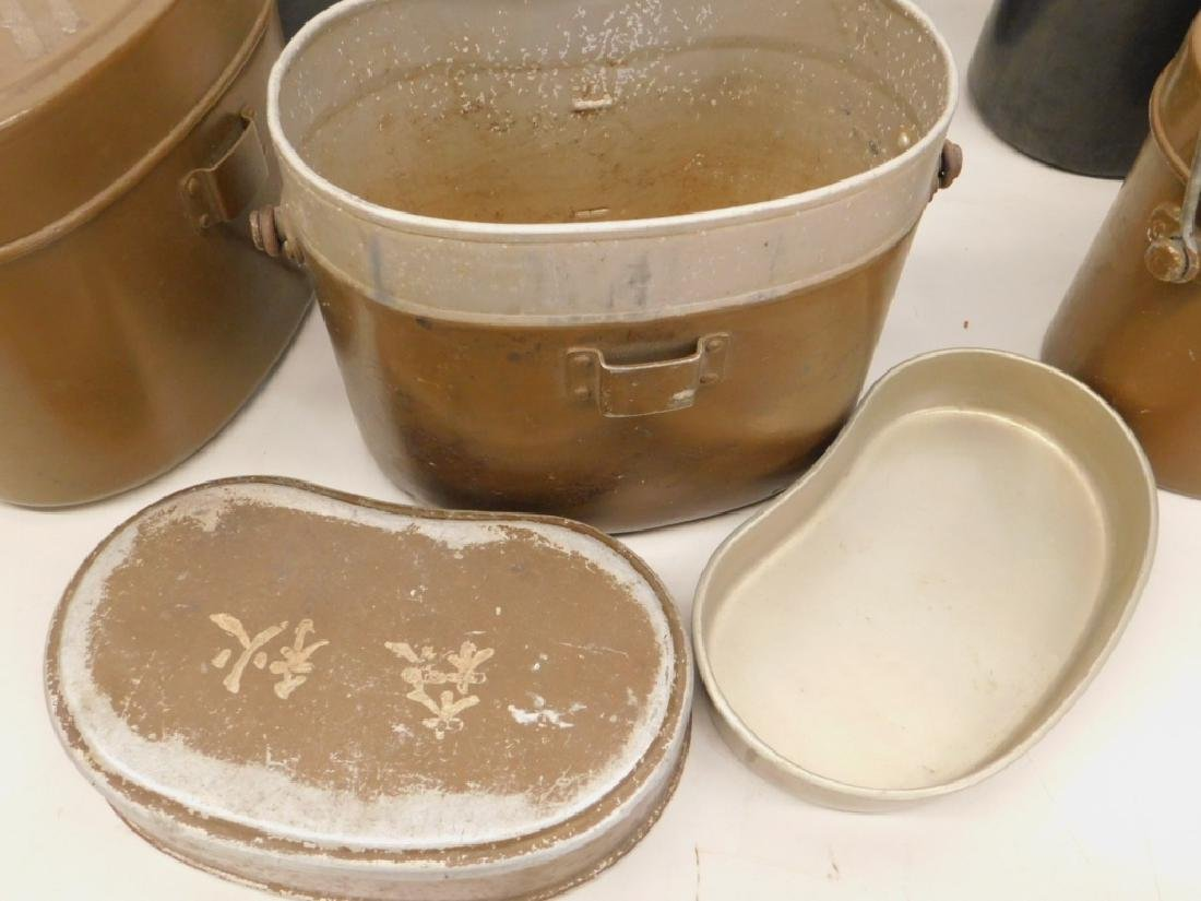 "WWII Japanese Mess Kits ""Rice Cookers"" (6) - 3"