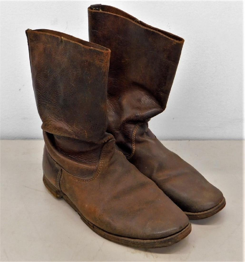 Russo-Japanese War 1904 Period Cavalry Boots
