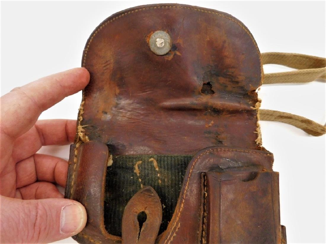 WWII German PPK Leather Holster with Should Strap - 3