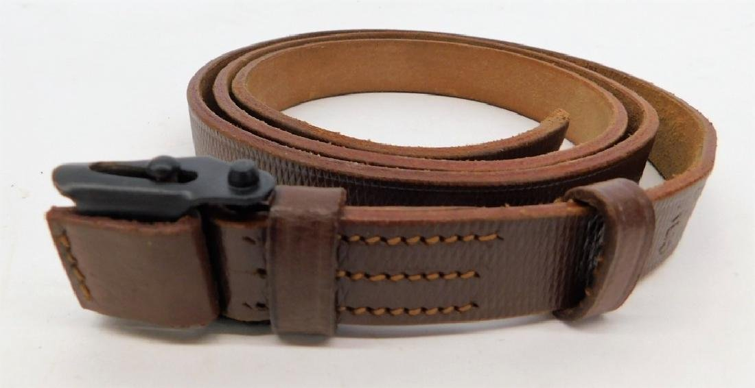 WWII German Leather Rifle Sling