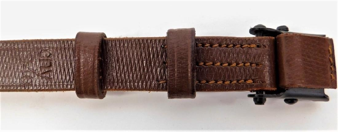 WWII German Leather Rifle Sling - 2