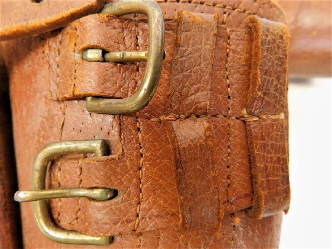WWII Japanese Pattern 1903 Leather Leggings - 3