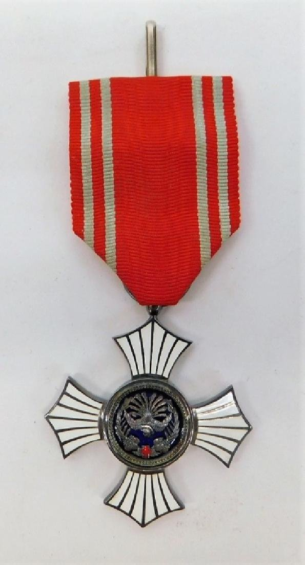 Japanese Red Cross Order of Merit Medal