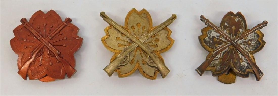 WWII Japanese Marksmanship Competition Badges (3)
