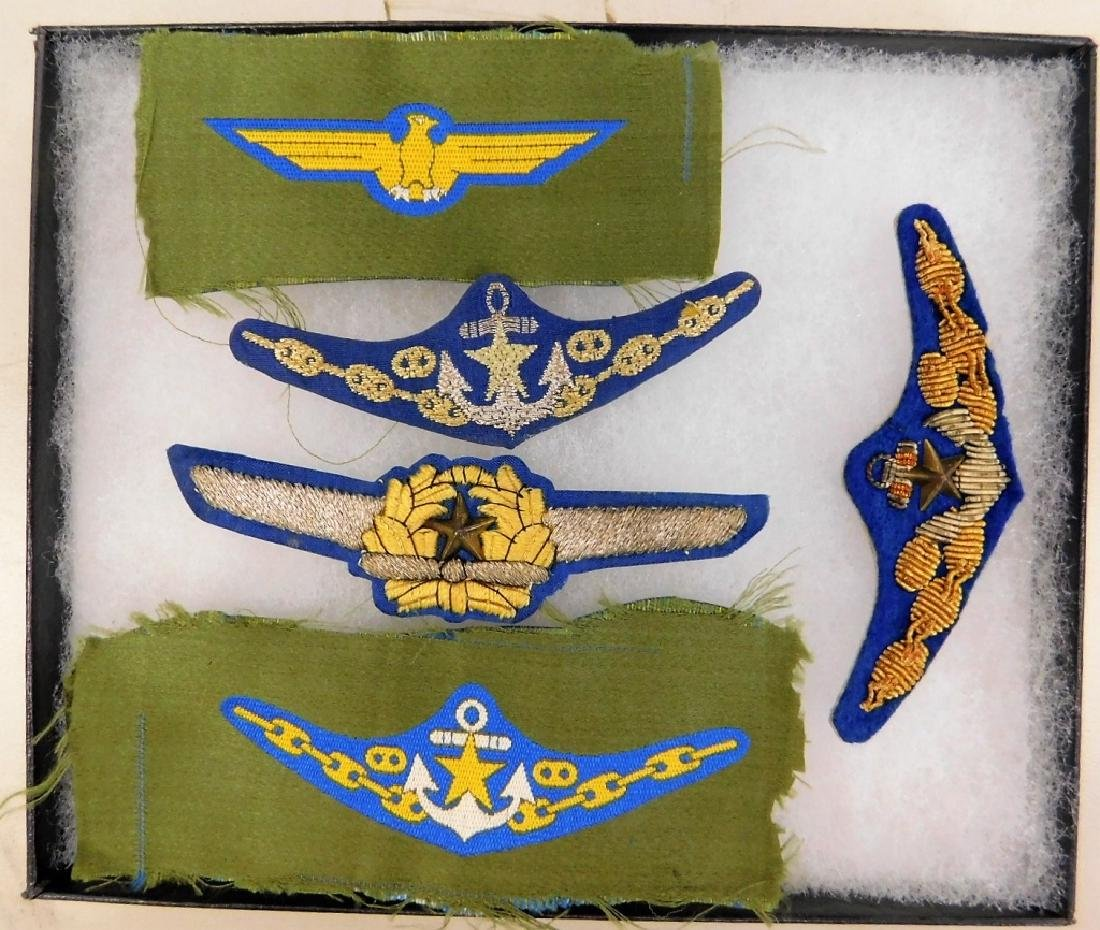 WWII Japanese Cloth Pilots Wings (5)