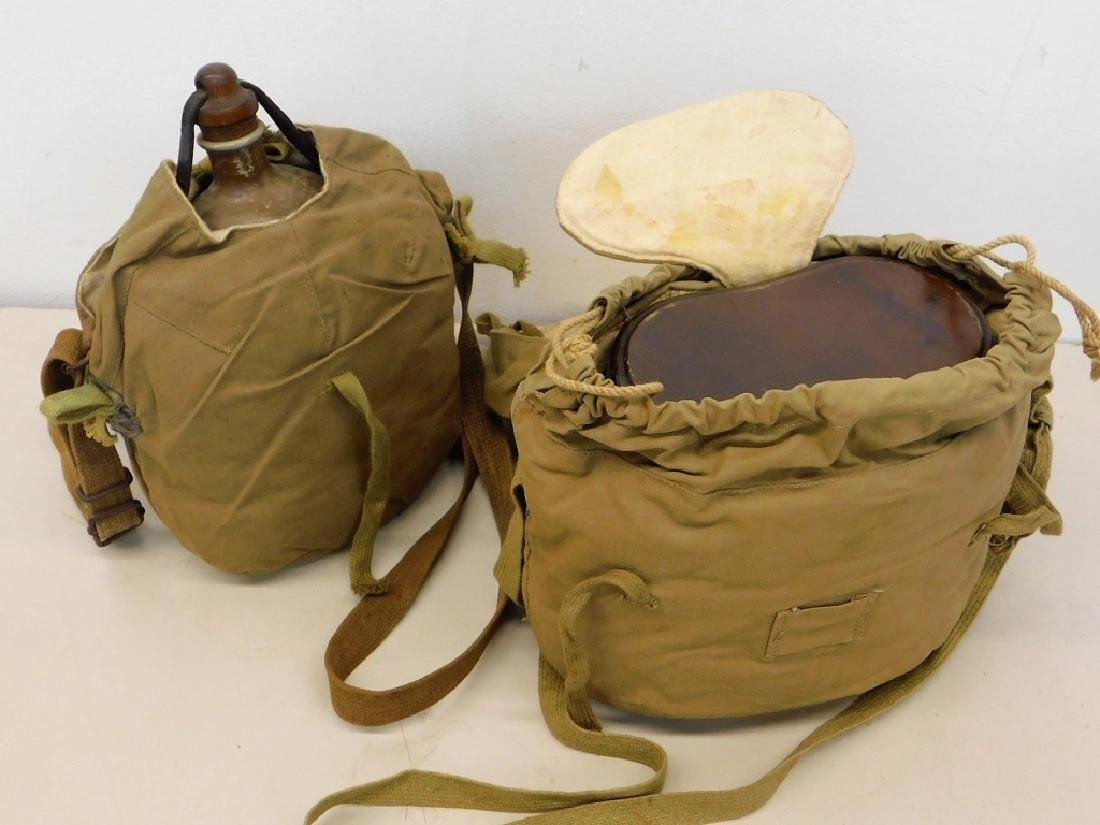 WWII Japanese Canteen & Rice Cooker &Winter Covers