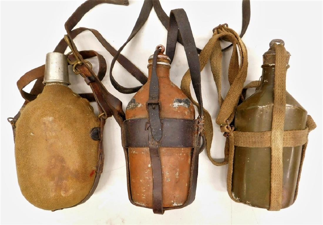 Russo- Japanese War Army Canteens (3)