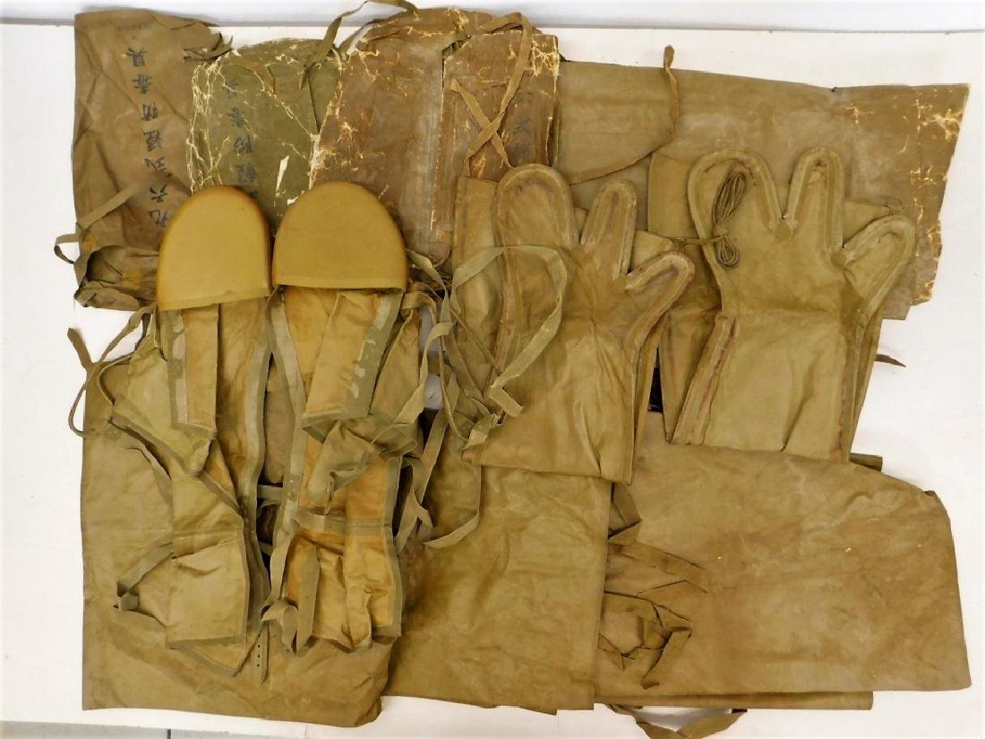 WWII Japanese Rubber Chemical Warfare Coveralls