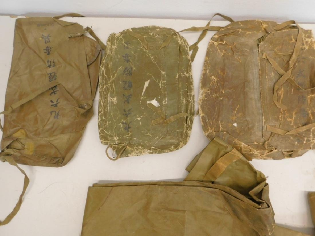 WWII Japanese Rubber Chemical Warfare Coveralls - 4