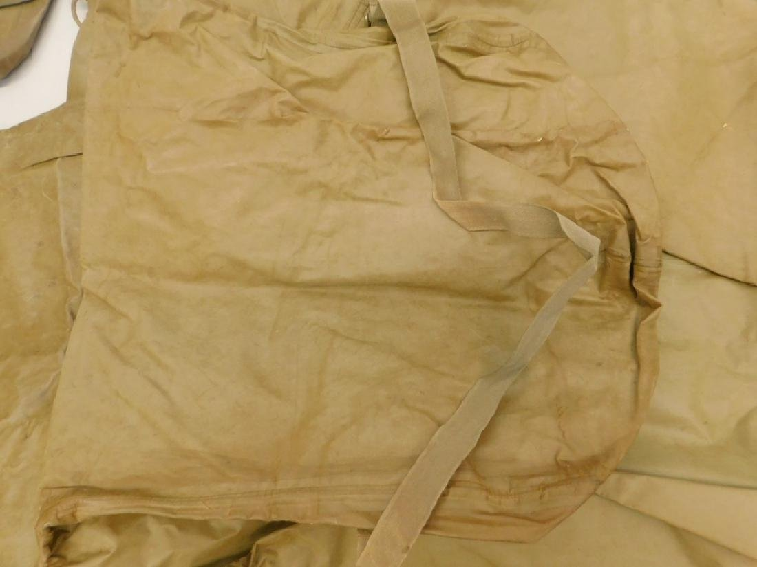 WWII Japanese Rubber Chemical Warfare Coveralls - 6