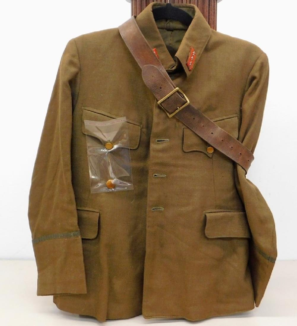 WWII Japanese Army Captains Summer Uniform