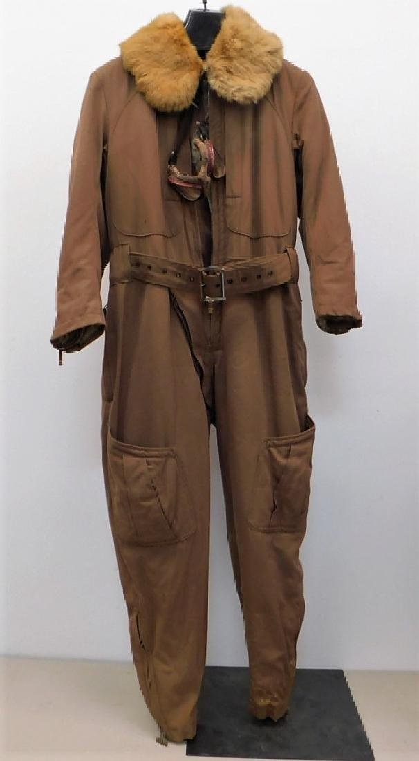 WWII Japanese Army Aviators Flight Suit & Goggles