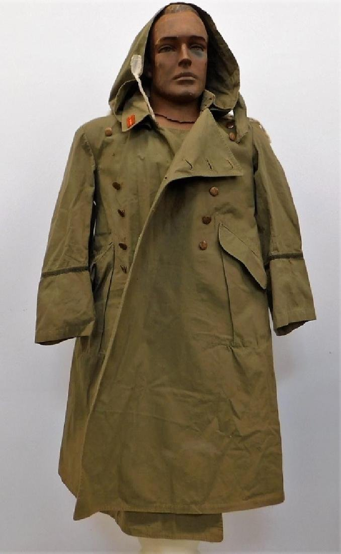 WWII Japanese Army Officers Overcoat