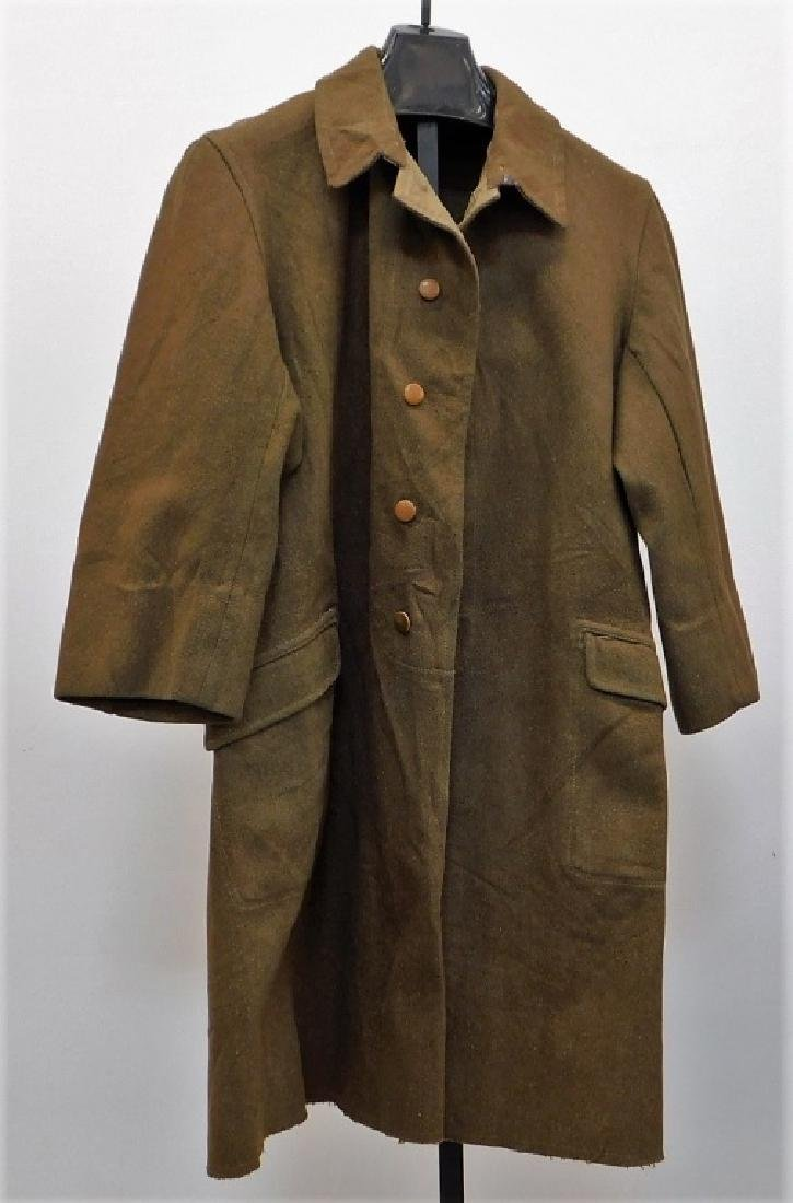 WWII Japanese Army Officers M1938 Overcoat 2nd Pat