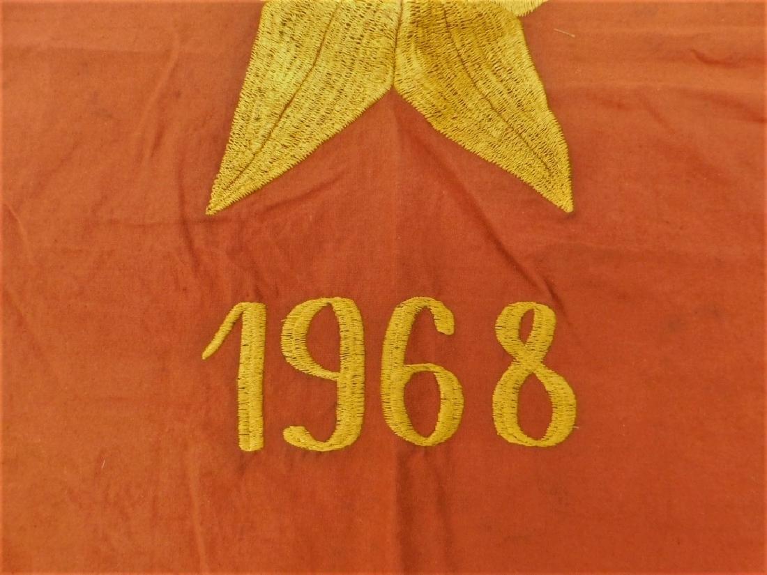 Vietnam War Vietcong Resolve to Win 1968 Flags (2) - 3