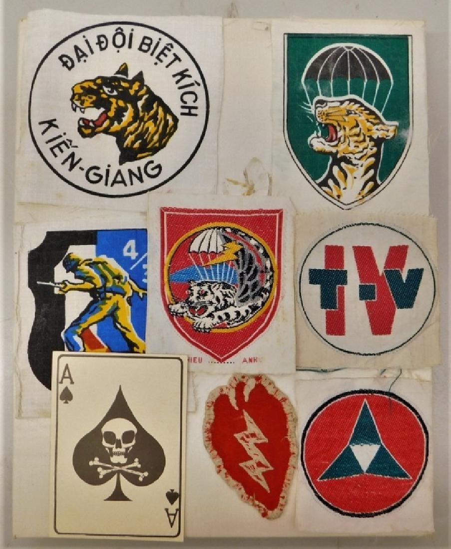 Vietnam War Camp Strike Force Insignia Plus Others