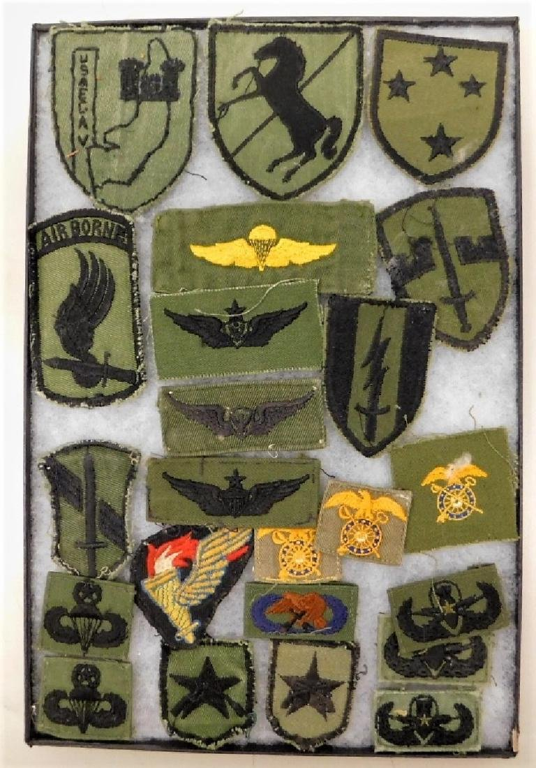 Vietnam War Era American Uniform Insignia