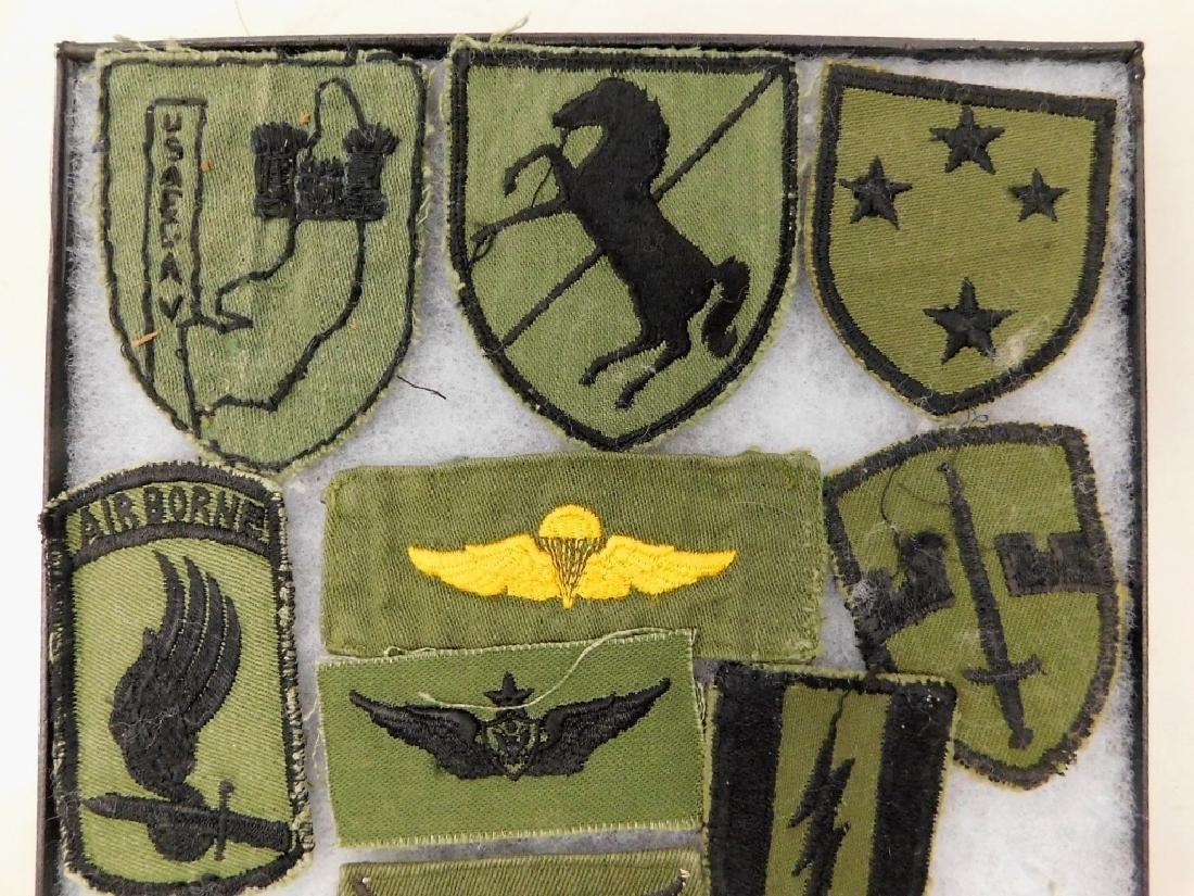 Vietnam War Era American Uniform Insignia - 2