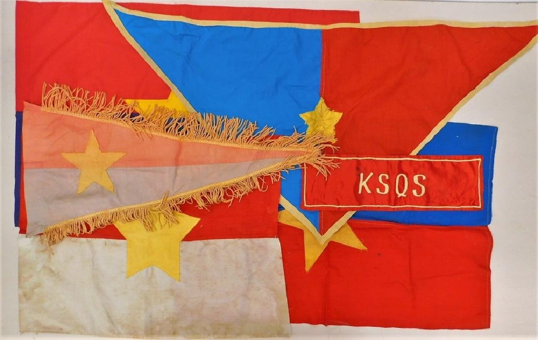 Vietnam War Vietcong Flags and Pennant Arm Band 6