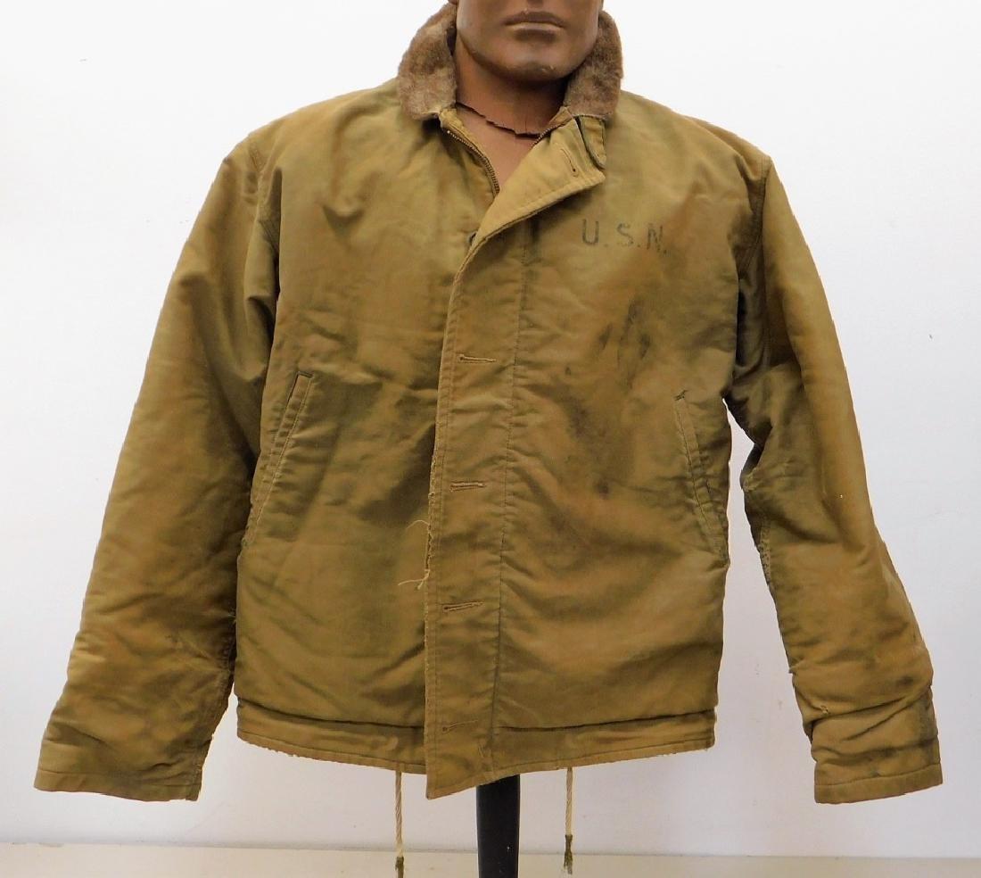 WWII U.S. Navy N-1 Deck Jacket