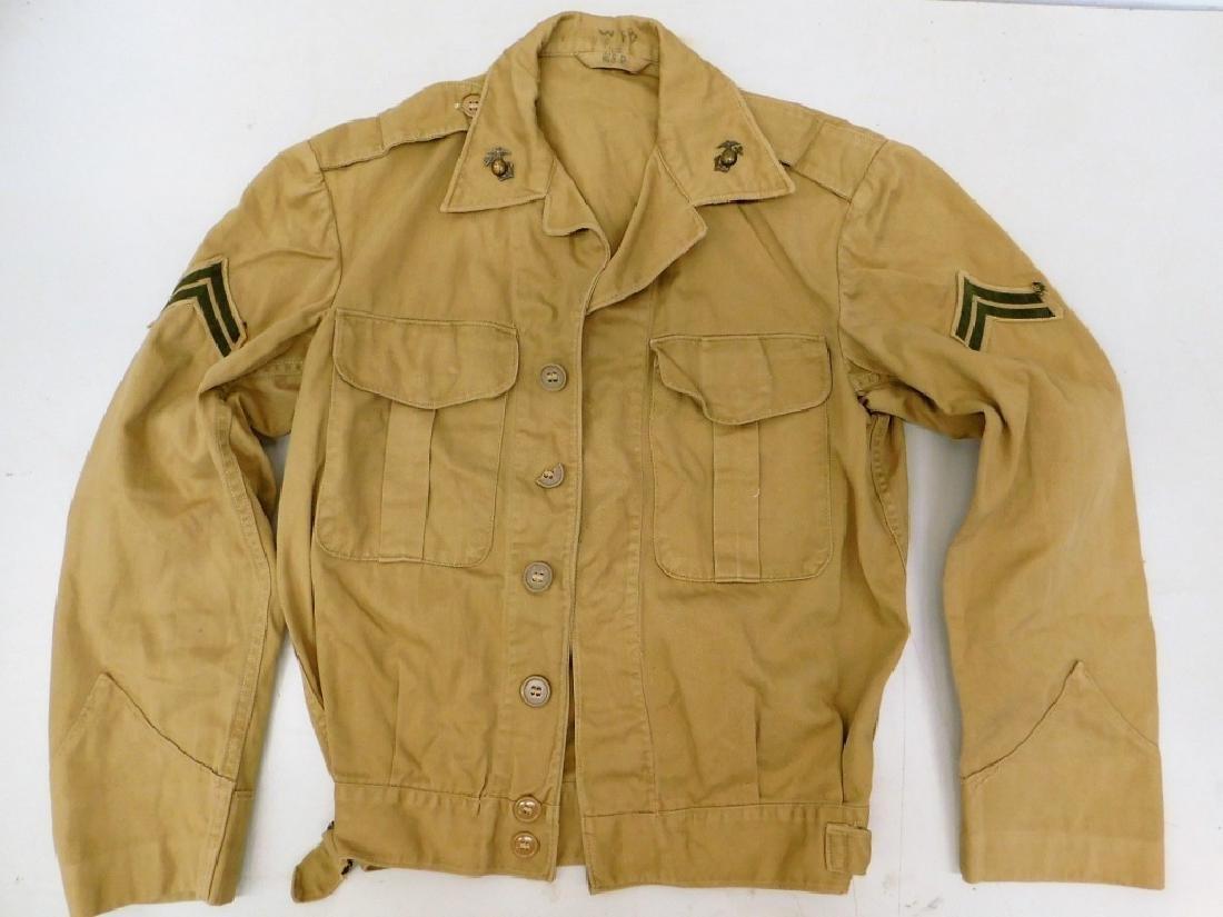 WWII U.S. Marine Corps Corporals Jacket