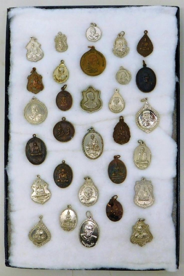 Vietnamese Soldiers Religious Medallions
