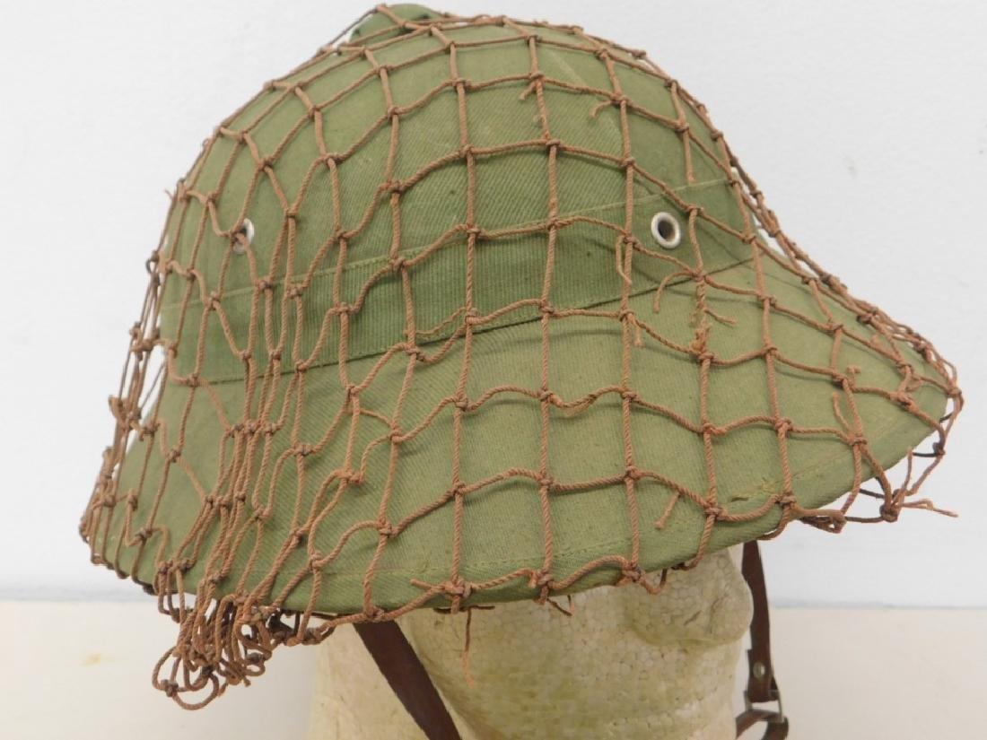 Vietnam War Viet Cong Sun Helmets in Tan & Green - 4