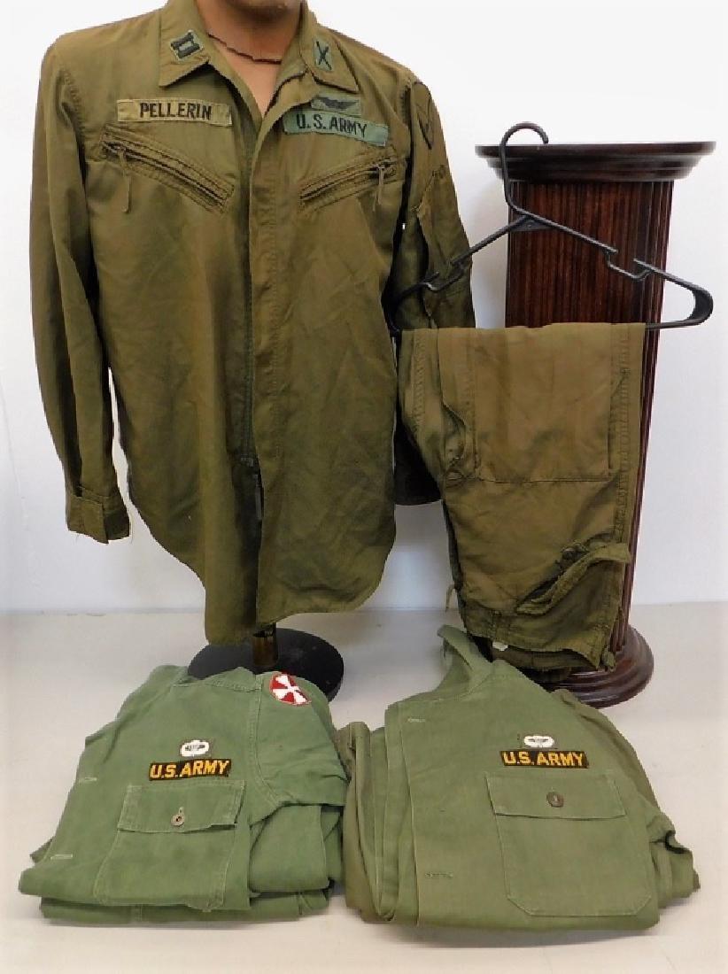Vietnam War American Uniforms, Pilot & Infantry