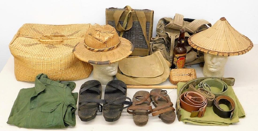 Vietnam War North Vietnamese Uniform & Equipment