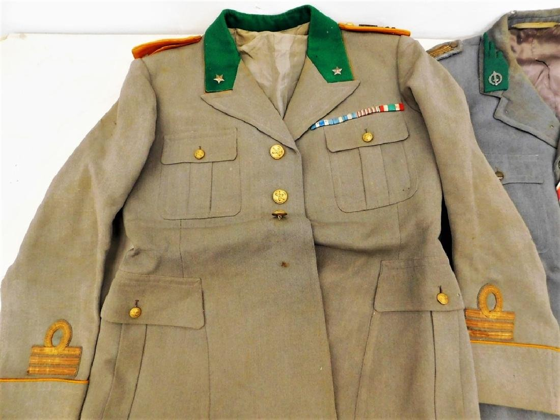 WWII Italian Military Uniforms with Ribbons/ Flags - 3