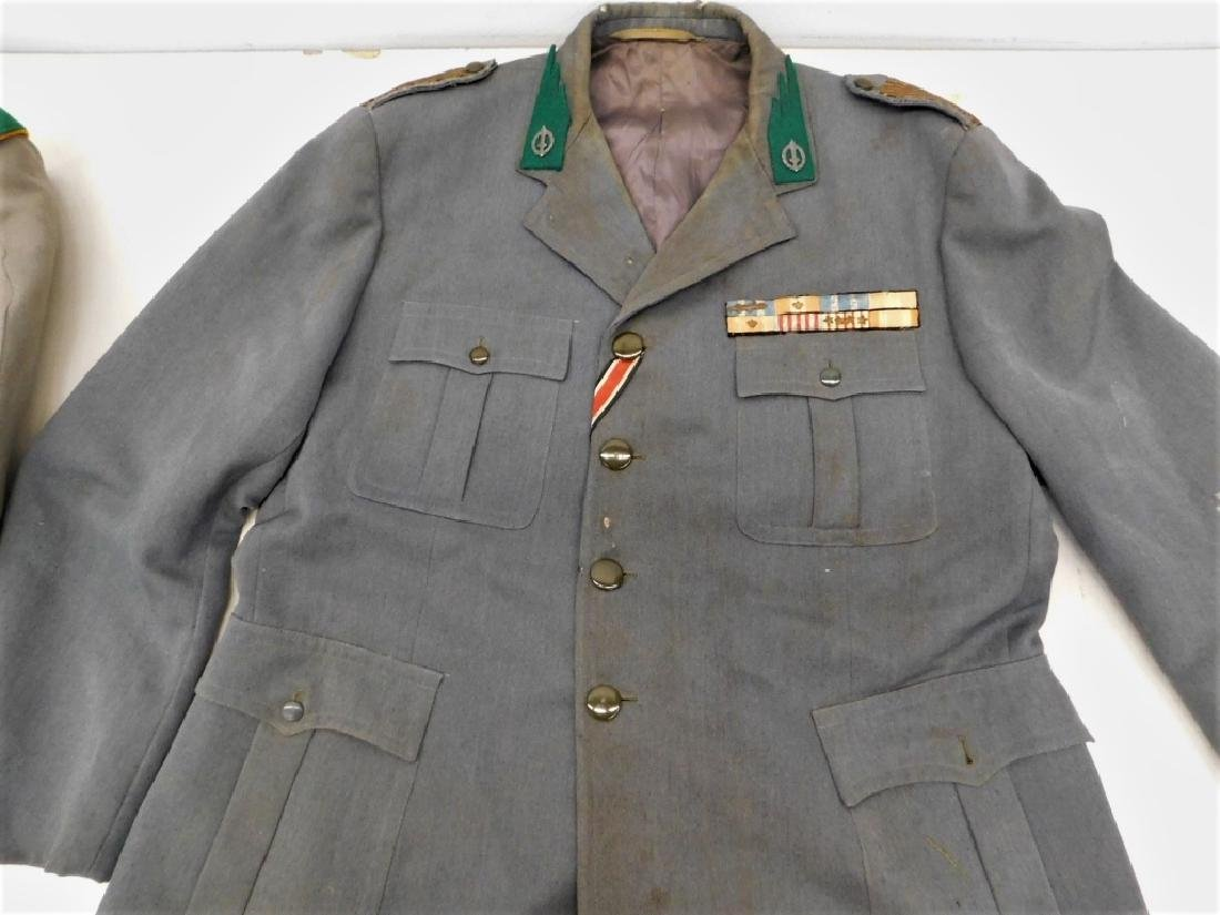 WWII Italian Military Uniforms with Ribbons/ Flags - 6