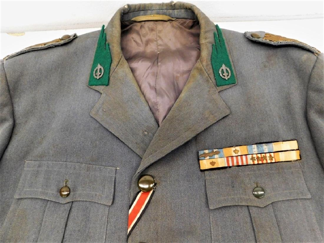 WWII Italian Military Uniforms with Ribbons/ Flags - 7