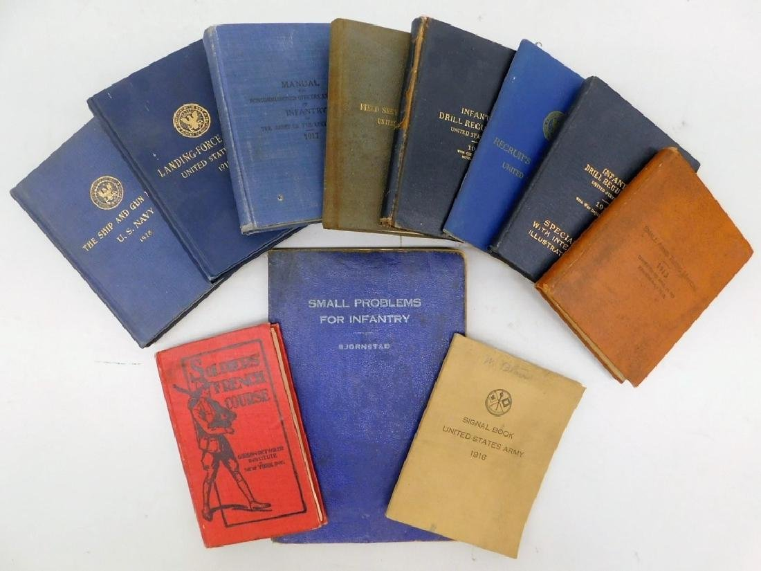 WWI Military Drill, Landing Force Manuals, (11)